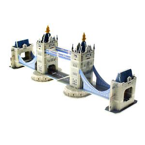 TOWER BRIDGE LONDON - LARGE 3D PUZZLES MODEL BUILDING