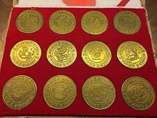 30% Off - Chinese Zodiac Coin Set