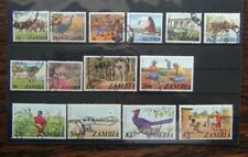 Zambia 1975 set complete to 2k Used SG226 - SG239