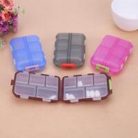 Sealing Plastic Medicine Pill Storage Box Cute Travel Mini Case Tablet Holder