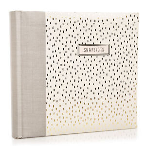 C.R. Gibson 4x6 Photo Album Journal Holds 60 Pictures Stories Cherished Memories