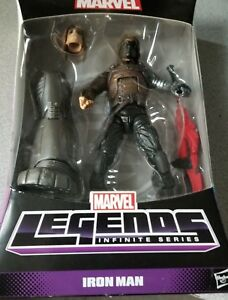 Marvel Legends Winter Soldier Action Figure in Iron Man Error Package With Groot