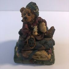 Boyd's Bears Neville Bedtime Music Box Bears One Collectibles