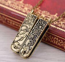 Grimm TV Show Key Pendant Necklace Nick's Black Forest Treasure Map Key