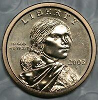 2003 P Sacagawea Dollar Choice BU Condition US Coin