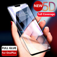 3/5D Curved Full Cover Tempered Glass Screen Protector 9H For OnePlus 6 5T 5 TY