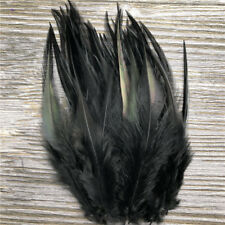 Beautiful 50pcs/100pcs rooster tail feathers 10-15cm / 4-6inch Diy hot