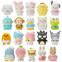 Japan Sanrio Characters Mix PVC Finger Doll Figure