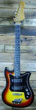 Vintage Teisco Style Japanese Made Strat Electric Guitar  USED #U1011