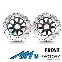 Floating Front Brake Disc x2 Fit Honda GL 1800 GOLDWING 01-14 04 05 06 07 08 09