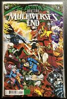 🚨💀 🔥 DARK NIGHTS DEATH METAL MULTIVERSES END #1 Cover A Michael Golden NM