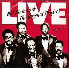 BILL PINKNEY & THE ORIGINAL DRIFTERS - LIVE IN CONCERT (NEW SEALED CD)