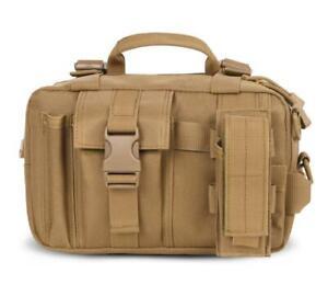 Tactical Fanny Pack Waist Bag Shoulder Messenger Handbag Outdoor Hiking Camping