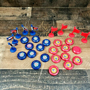 1983 Crossbows and Catapults Lot of Flags and Tokens