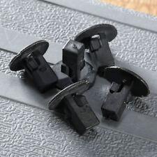 50Pcs Black 5mm Car Bumper Fender Hole Plastic Rivets Fasteners Clip For Toyota