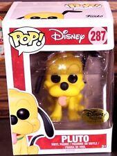 Funko Pop! Pluto #287 Dog Disney Treasures Exclusive NEW 2017 Festival of Friend