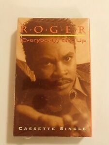ROGER (Everybody) Get Up 1991 CASSETTE SINGLE New SEALED Zapp Larry Troutman