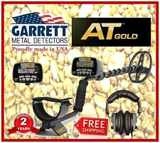 GARRETT AT GOLD Metal Detector -Headphones incl'd -18kHz for Nuggets & All Apps