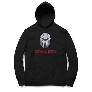 Herren Kapuzenpullover Hoodie Battlestar Galactica Cylon Cyber Robot CL1217HD