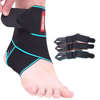 Adjustable Ankle Support Strap Brace Sports/Chronic Ankle Strain/Sprains/Fatigue