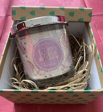 Fluffy Marshmallow Candle. Secret Santa. Gift Box. Large Candle. Christmas Gift.