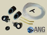 TRIUMPH TR4,TR4A,TR5, TR6 WINDSCREEN WASHER JETS, TUBING, PLINTHS & MOUNTS KIT