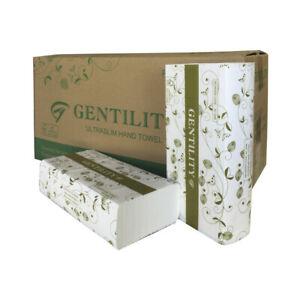 Ultraslim Paper Hand Towel 23X24cm Gentility Interleave Hand Towel, 2400 Sheet