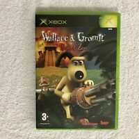 Wallace and Gromit - Project Zoo Video Game Microsoft Xbox Original 2003