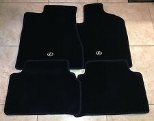 "*NEW LEXUS RX330 RX350 RX400H CARPET FLOOR MATS FRONT BLACK GENUINE 04-09 ""RHD"""