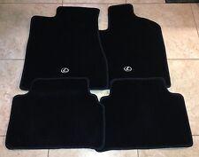 "*NEW LEXUS RX330 RX350 RX400H CARPET FLOOR MATS FRONT BLACK GENUINE 04-09 ""RHD"""