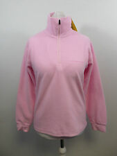 F.Lli Campagnolo Womens Fleece Top Pale Pink Uk XS Box34 21 B