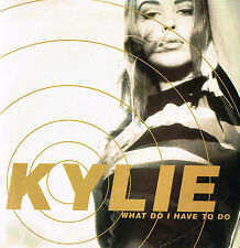 "KYLIE MINOGUE What Do I Have To Do 7"" SINGLE France 1990 Picture Sleeve @PWL 72"