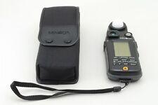 [Excellent++] Minolta Flash Meter VI w/Case,Strap Light Meter Digital from Japan