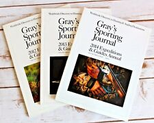 3x Gray's Sporting Journal Magazines EXPEDITIONS & GUIDES ANNUAL 2012-2014