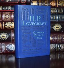 H.P. Lovecraft Cthulhu Mythos Tales Necronomicon  Dunwich New Soft Leather Feel