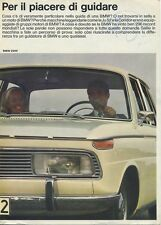 BROCHURE DEPLIANT AUTO BMW 1600 - 1800 - 2000