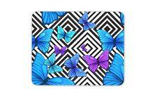 Cool Purple Butterflies Mouse Mat Pad - Butterfly Mum Sister Gift Computer #8661