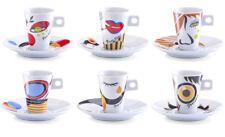 12tlg Espresso Set Porzellan Espressotasse Tasse Untertasse Becher Kaffeetasse