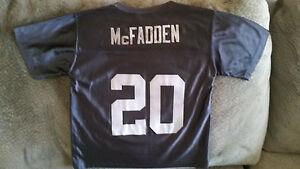 Darren McFadden #20 Raiders NFL reebok jersey, KIDS LARGE (7-8). FREE SHIPPING!!