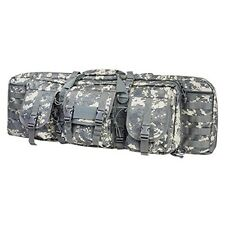 "NcStar VISM Tactical 36"" Digital ACU Padded Double Carbine Rifle Gun Case Bag"