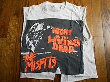RARE VINTAGE 80'S ORIGINAL BAND WORN MISFITS T SHIRT STAGE WORN & OWNED BY JERRY