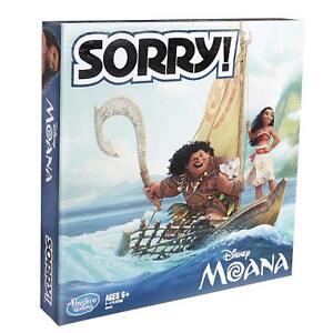 *NEW* Sorry! Game: Disney Moana Edition - Slight Box Damage - Free Shipping!