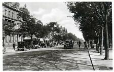 Lord Street Southport Motor Car (B) sepia RP old postcard used 1932
