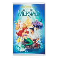 Disney Park The Little Mermaid Ariel & Eric Vhs Case Style Journal Diary New