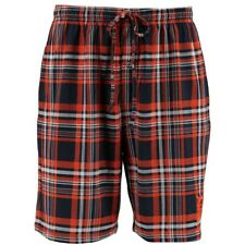 Detroit Tigers || Mens || Medium || Navy/Orange Plaid || Boxer Shorts || NEW