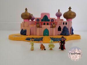 Jasmine's Royal Palace Polly Pocket Château Aladdin Disney 1996 + Personnages