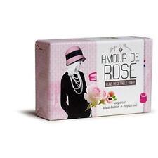 L'epi de PROVENCE Amour de Rose Shea Butter Argan French Soap 200g Bath Size Bar