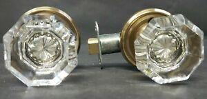 Emtek Crystal Doorknob 8100 Old Town