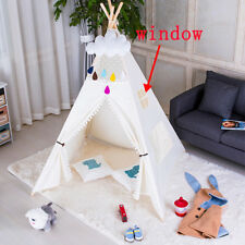Green Canvas Kids Teepee Wigwam Childrens Play Tent Childs Garden or Indoor Toy & Childrenu0027s Teepees for sale | eBay