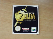 Nintendo 64 Zelda Ocarina of Time Replacement Label Decal Sticker precut